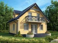 Каркасный дом луга 120 м2 1 961 000 руб